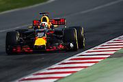 February 26, 2017: Circuit de Catalunya. Daniel Ricciardo (AUS), Red Bull Racing, RB13