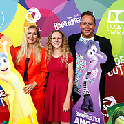 NLD/Hilversum/20150715 - Premiere Binnenstebuiten, Peggy Vrijens, Elaine Hakkaart, Richard Groenendijk,