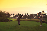 Golfing, Wailea Emerald Course, Hawaii, USA<br />