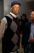 Russell Simmons. Karl Largerfeld hosts the launche of Dom Perignon Vintage 1998. Skylight Studios. 275 Hudson St. New York. 2 June 2005. ONE TIME USE ONLY - DO NOT ARCHIVE  © Copyright Photograph by Dafydd Jones 66 Stockwell Park Rd. London SW9 0DA Tel 020 7733 0108 www.dafjones.com