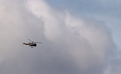 21.03.2017, Flugplatz, Zell am See, AUT, Bundesheer Übung, im Bild ein Alouette III Hubschrauber des Österreichischen Bundesheeres während einer Übung // An Alouette III helicopter of the Austrian Armed Forces during an exercise at the Airport, Zell am See, Austria on 2017/03/21. EXPA Pictures © 2017, PhotoCredit: EXPA/ JFK