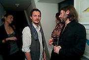 JONATHAN YEO; MAT COLLISHAW, Polly Morgan 30th birthday. The Ivy Club. London. 20 January 2010