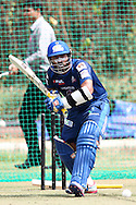 Dinesh Karthik of Mumbai Indians during the Mumbai Indians training session ahead of their Karbonn Smart CLT20 2013 match against Highveld Lions held at the Sawai Mansingh Stadium in Jaipur on the 26th September 2013<br /> <br /> Photo by Shaun Roy-CLT20-SPORTZPICS <br /> <br /> Use of this image is subject to the terms and conditions as outlined by the BCCI. These terms can be found by following this link:<br /> <br /> http://www.sportzpics.co.za/image/I0000SoRagM2cIEc