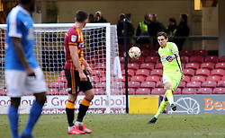 Luke McGee of Peterborough United clears the ball - Mandatory by-line: Joe Dent/JMP - 04/03/2017 - FOOTBALL - Coral Windows Stadium - Bradford, England - Bradford City v Peterborough United - Sky Bet League One