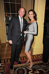 SIR HARRY & LADY NUTTAL at a reception hosted by Films Without Borders at the Lanesborough Hotel, Hyde Park Corner, London on 27th October 2010.