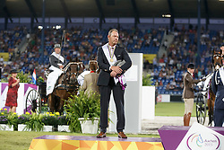 Silver medal individual, Chardon IJbrand , (NED)<br /> Marathon Driving Competition<br /> FEI European Championships - Aachen 2015<br /> © Hippo Foto - Dirk Caremans<br /> 22/08/15