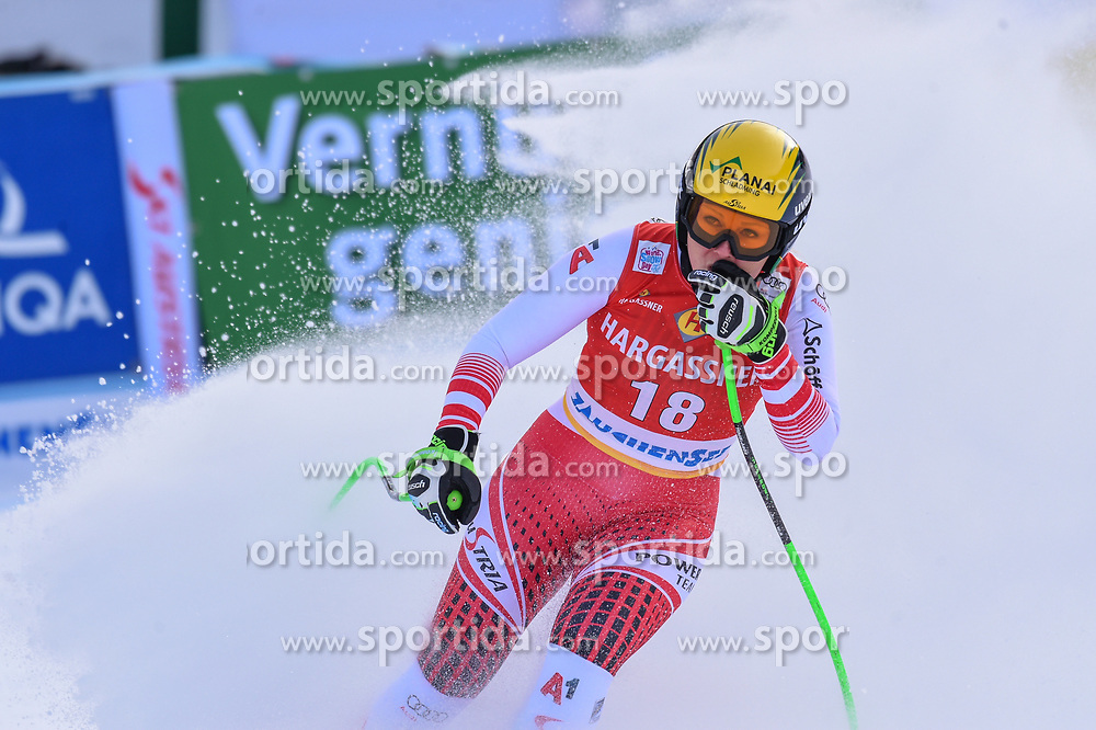26.10.2019, Keelberloch Rennstrecke, Altenmark, AUT, FIS Weltcup Ski Alpin, Abfahrt, Damen, 1. Training, im Bild Tamara Tippler (AUT) // Tamara Tippler of Austria reacts after her 1st training run for the women's Downhill of FIS ski alpine world cup at the Keelberloch Rennstrecke in Altenmark, Austria on 2019/10/26. EXPA Pictures © 2020, PhotoCredit: EXPA/ Erich Spiess