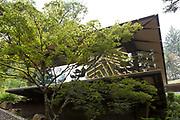 The Portland Japanese Garden.<br /> <br /> Photo by Christina Sjogren