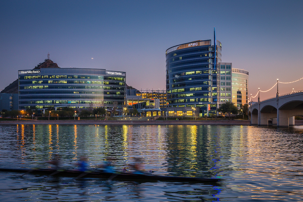 Tempe, Arizona commercial real estate photographer, Tempe Town Lake