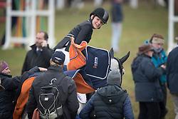 De Jong Sanne, NED, Enjoy<br /> World Championship Young Eventing Horses<br /> Mondial du Lion - Le Lion d'Angers 2016<br /> © Hippo Foto - Dirk Caremans<br /> 23/10/2016