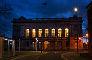 Grimsby Town Hall at Night