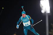PYEONGCHANG-GUN, SOUTH KOREA - FEBRUARY 12: Sergii Semenov of Ukraine during the Mens Biathlon 12.5km Pursuit at Alpensia Biathlon Centre on February 12, 2018 in Pyeongchang-gun, South Korea. Photo by Nils Petter Nilsson/Ombrello               ***BETALBILD***