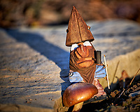 """Viking Nisse Wanabe asking the question """"Do I eat the magic mushroom, or watch the election results tonight?"""""""