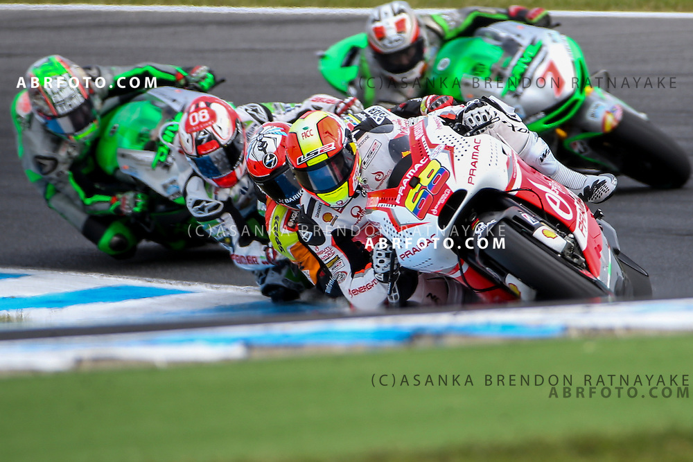 October 19, 2014: Yonny Hernandez riding for Pramac Racing   during the 2014 MotoGP of Australia at Phillip Island Grand Prix Circuit on October 19, 2014 in Phillip Island, Australia. Photo Asanka Brendon Ratnayake