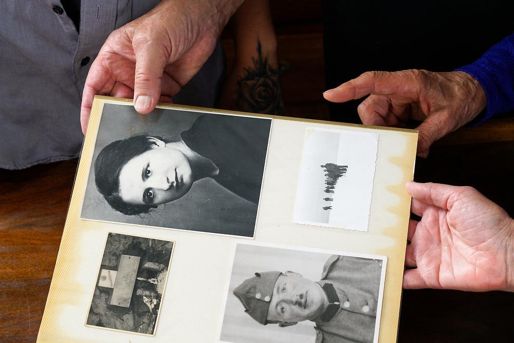 Un couple de Valaisans  Marcel Dumoulin et son &eacute;pouse Fran&ccedil;ine Dumoulin, disparus en 1942 ont &eacute;t&eacute; retrouv&eacute;s dans le massif des Diablerets.<br /> <br /> Savi&egrave;se (VS) juillet 2017<br /> &copy;Nicolas Righetti/Lundi13