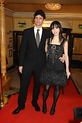Ballerina TAMARA ROJO and JONATHAN COPE at the South Bank Show Awards held at The Dorchester, Park Lane, London on 29th January 2008.<br />