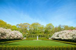Conservatory Garden in Spring, Central Park
