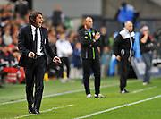 Udine, 14 aprile 2014.<br /> Serie A 2013/2014. 33^ giornata.<br /> Stadio Friuli<br /> Udinese vs Juventus.<br /> Nella foto: Antonio Conte, allenatore Juventus.<br /> © foto di Simone Ferraro