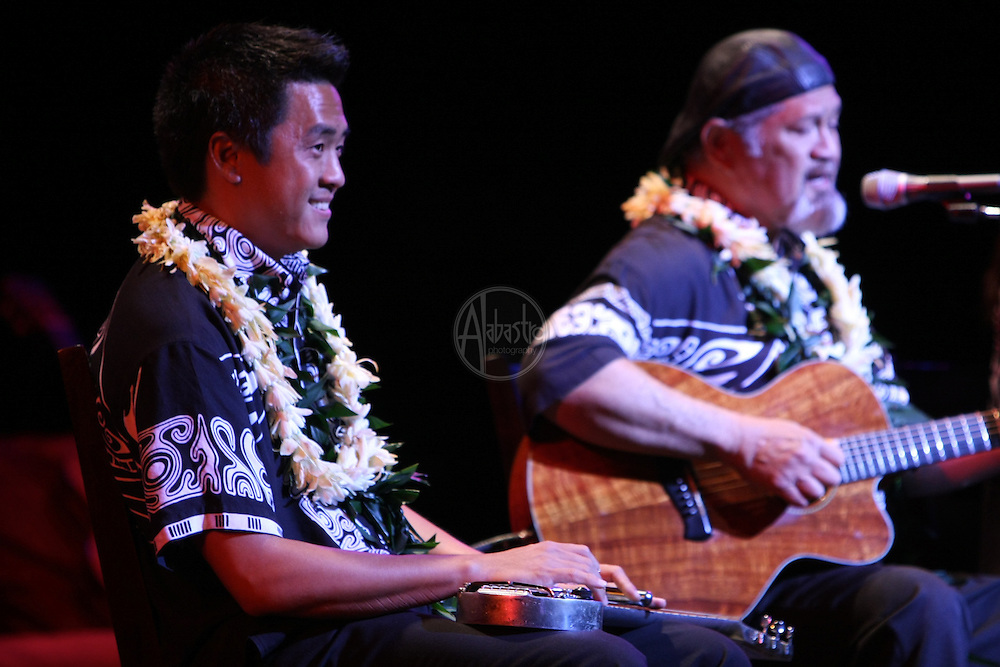 1st Annual Los Angeles Guitar Festival, July 2011.  Cyril Pahinui.