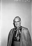 25/07/1962<br /> 07/25/1962<br /> 25 July 1962<br /> Consecration Rev. Dr Grimley S.M.A. as Bishop of Cape Palmas, Liberia at the Pro Cathedral, Dublin. Picture shows the new Bishop Very Rev. Dr. Nicholas Grimley, a native of Skerries, after the ceremony.