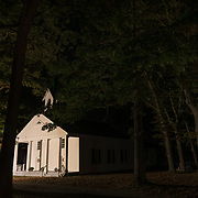 Church in Woods. West Virginia.