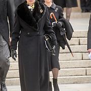 LUX/Luxemburg/20190504 - Funeral of HRH Grand Duke Jean/Uitvaart Groothertog Jean, Prinses Anne van Engeland