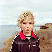 ANCHORAGE, AK - APRIL 2012: Sam Bower, son of Jonathan J. Bower.