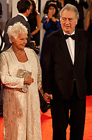 Judi Dench; Stephen Frears; at the premiere of the film Victoria & Abdul at the 74th Venice Film Festival, Sala Grande on Sunday 3 September 2017, Venice Lido, Italy.
