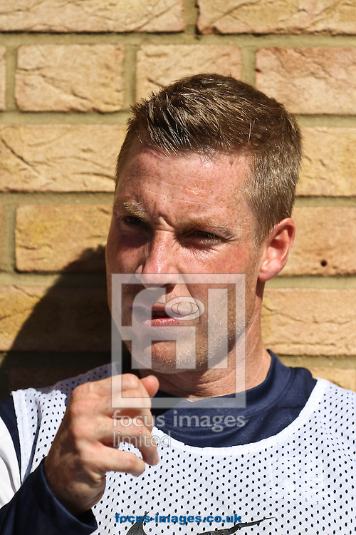 Picture by David Horn/Focus Images Ltd +44 7545 970036.08/09/2012.Neil Harris of Southend United looks on during the npower League 2 match at Roots Hall, Southend.