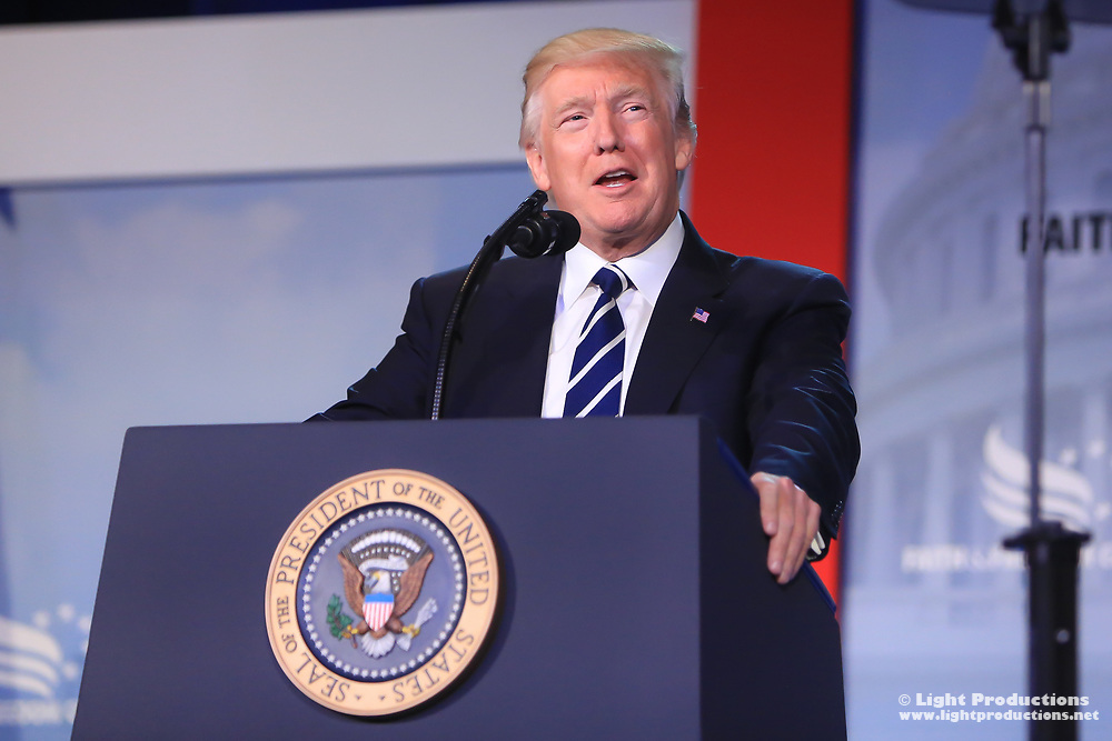 President Donald J. Trump, 45th President of the United States of America