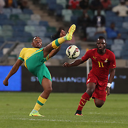 Sibussiso Vilakazi of South Africa during the international friendly match between South Africa ( Bafana Bafana ) and Ghana at the Moses Mabhida stadium in Durban, South Africa on the 11th October 2016<br /> <br /> Photo by:   Steve Haag / Real Time Images