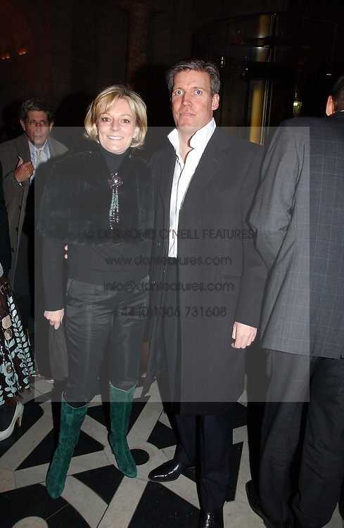JO MALONE and her husband GARY WILLCOX attend opening night of &quot;Kylie - The Exhibition&quot; at Victoria &amp; Albert Museum February 6, 2007 in London.<br />