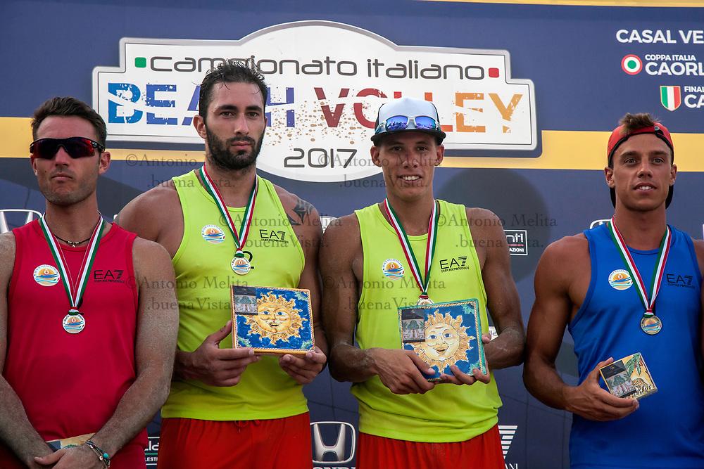 Matteo Martino e Paolo Ingrosso Matteo conquistano la tappa di Mondello valevole per il campionato italiano di Beach Volley.