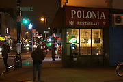 6 March 2013. Brooklyn, NY. Polonia Restaurant in Greenpoint. 3/6/2013. Photo by Gabrielle Sierra/CUNY Wire Service