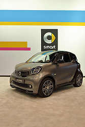 09 February 2017: Mercedes Benz SmartforTwo Concept for Sound with Brabus interior<br /> <br /> First staged in 1901, the Chicago Auto Show is the largest auto show in North America and has been held more times than any other auto exposition on the continent.  It has been  presented by the Chicago Automobile Trade Association (CATA) since 1935.  It is held at McCormick Place, Chicago Illinois<br /> #CAS17