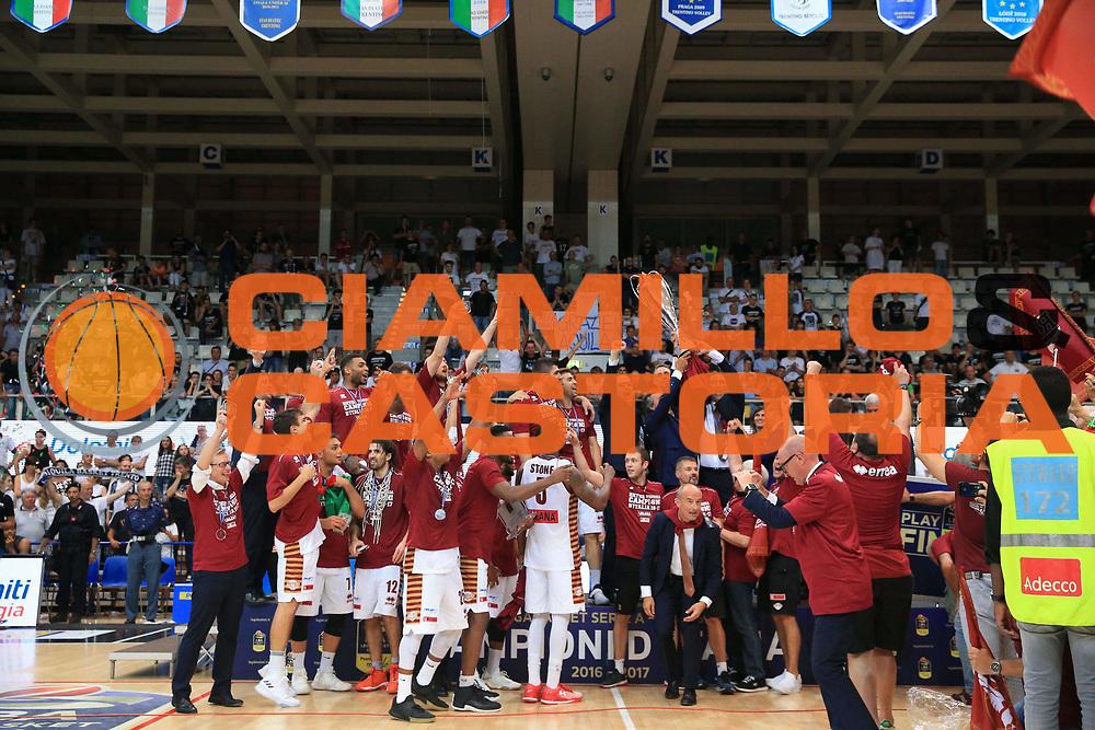 Umana Venezia Campione D Italia<br /> Dolomiti Energia Trento - Umana Venezia<br /> Finale Gara 6<br /> Legabasket A 2016/2017<br /> Trento 20/06/2017<br /> Foto Ciamillo-Castoria