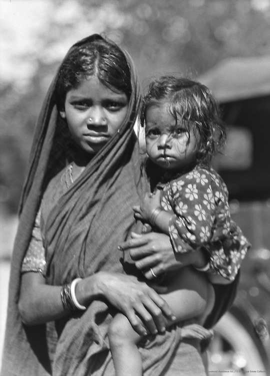 Muslim Girl Near Guntakal, India, 1929