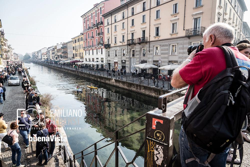 Emiliano Albensi<br /> 15/10/2017 Milano<br /> Nella foto: i navigli di Milano<br /> <br /> Emiliano Albensi<br /> 15/10/2017 Milan<br /> In the picture: the Navigli in Milan