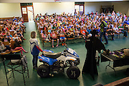 Ride Safe Oklahoma a 4-H sponsored ATV Safety program to help prevent injuries to children riding all terrain vehicles presented a program to kids at the Fogarty Elementary school in Guthrie Oklahoma. Ride Safe Oklahoma a 4-H sponsored ATV Safety program to help prevent injuries to children riding all terrain vehicles presented a program to kids at the Fogarty Elementary school in Guthrie Oklahoma.