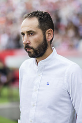 August 15, 2017 - Girona, Spain - 00 Pablo Machin from spain trainer of Girona FC during the Costa Brava Trophy match between Girona FC and Manchester City at Estadi de Montilivi on August 15, 2017 in Girona, Spain. (Credit Image: © Xavier Bonilla/NurPhoto via ZUMA Press)