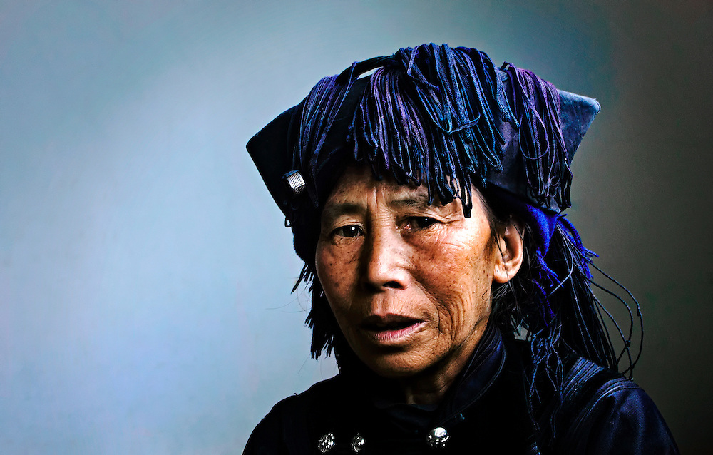 A Hani woman in Yuanyang, China.<br /> Winner of Creative Asia Photography Awards 2012 &ndash; Silver medal
