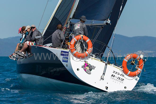 B52 sailing during the 2015 Airlie Beach Race week.<br />Airlie beach, QLD<br />07/08/2015<br />ph. Andrea Francolini