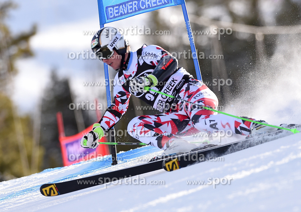 06.12.2015, Birds of Prey Course, Beaver Creek, USA, FIS Weltcup Ski Alpin, Beaver Creek, Riesenslalom, Herren, 1. Lauf, im Bild Hannes Reichelt (AUT) // Hannes Reichelt of Austria during the first run of mens Giant Slalom of the Beaver Creek FIS Ski Alpine World Cup at the Birds of Prey Course in Beaver Creek, United States on 2015/12/06. EXPA Pictures © 2015, PhotoCredit: EXPA/ Erich Spiess