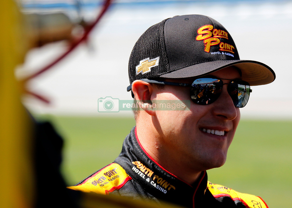 April 28, 2018 - Talladega, AL, U.S. - TALLADEGA, AL - APRIL 28: Daniel Hemric, Richard Childress Racing, Chevrolet Camaro South Point Hotel & Casino (21)  during qualifying for the 27th annual Sparks Energy 300 on Saturday April 28, 2018 at Talladega Superspeedway in Talladega, Alabama (Photo by Jeff Robinson/Icon Sportswire) (Credit Image: © Jeff Robinson/Icon SMI via ZUMA Press)