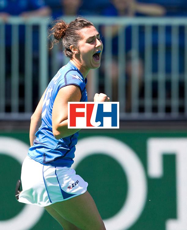 25/06/2015<br /> HWL Semi Final Antwerp Belgium 2015<br /> Italy v Japan Women<br /> Chiara Tiddi<br /> Photo: Grant Treeby