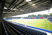 Crown Oil Arena during the EFL Sky Bet League 1 match between Rochdale and Peterborough United at Spotland, Rochdale, England on 11 August 2018.