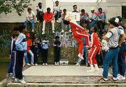 A Group of Breakdancers, London 1983