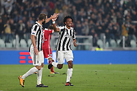 25.10.2017 - Torino - Serie A 2017/18 - 10a giornata  -  Juventus-Spal nella  foto: Juan Cuadrado esulta dopo il gol del 4 a 1