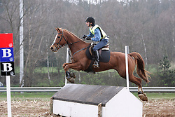 Van Gompel Veronique - Valco<br /> Nationaal kampioenschap eventing LRV <br /> Lummen 2006<br /> Photo &copy; Hippo Foto