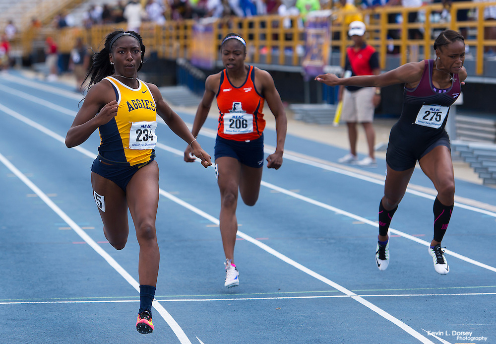 2016 MEAC Outdoor Track & Field in Greensboro, NC